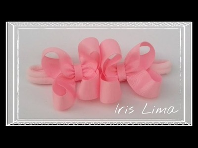 Como Fazer Laço Boutique. How To Make A Boutique Hair Bow By Iris Lima