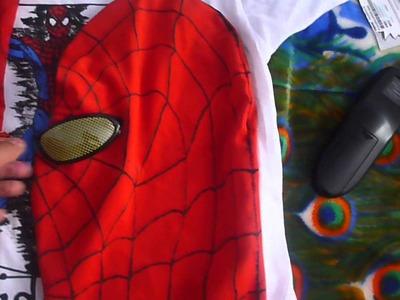 ¿Como Hacer La Mascara De The Amazing Spider-Man? Parte 4