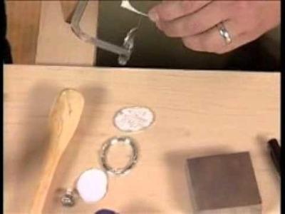 Create a bolo tie using reticulated silver with Rio Grande