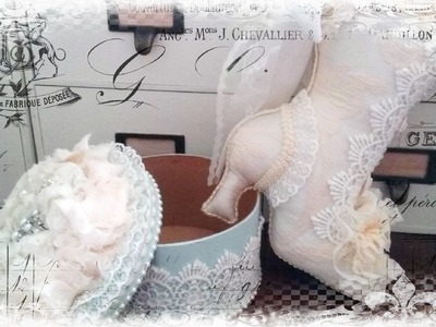 Decorated Shabby Chic Boot Timelapse How To
