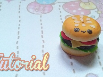 Hamburguesa kawaii en porcelana fria  [Tutorial]