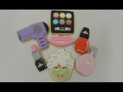 How to Decorate Make-Up Cookies