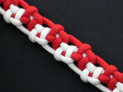 How to Make the Tumbling Box Bar (Paracord) Bracelet by TIAT