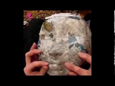 Pinatas - Shaping face for pinatas part 3