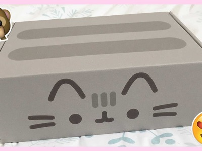 Pusheen December 2015 Box ● Review & Unboxing