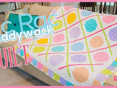 Ric Rac Paddywack Quilt! Easy Quilting Tutorial with Kimberly Jolly of Fat Quarter Shop