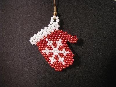 Snowflake Mitten Earrings ~ Part 2.2