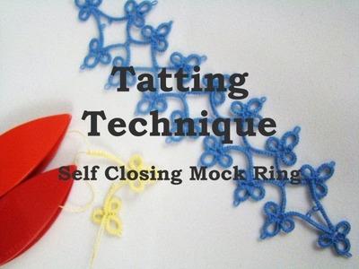 Tatting Technique SCMR