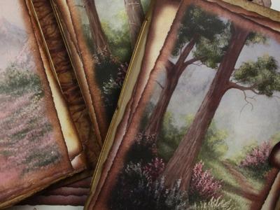 """The Way Home"" Printable Mini Album from the ""Artisan Series"""