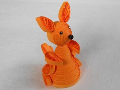 3D Quilling Kangaroo - Making Tutorial