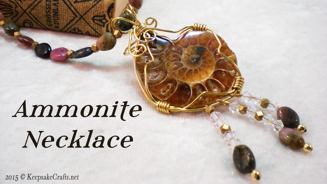 Ammonite Necklace (Part 2 of 2) Tutorial