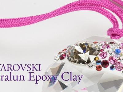 Artbeads Mini Tutorial - Swarovski Ceralun Epoxy Clay with Nick Regine