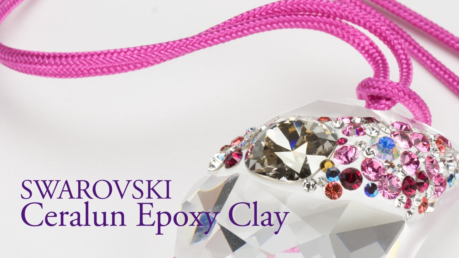 Artbeads Mini Tutorial - Swarovski Ceralun Epoxy Clay with Nick Regine