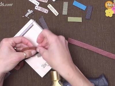 Artbeads Mini Tutorial - Rustic Leather Remnant Bracelets with Tracy Gonzales