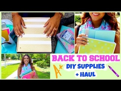 Back to School DIY Cute Supplies + Haul!