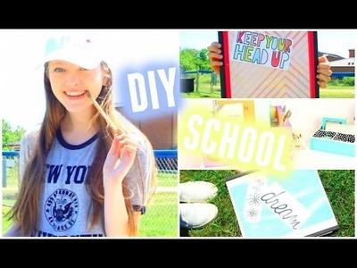 Back to School! DIY School Supplies + Organization!
