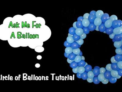 Balloon Decoration Tutorial - Circle