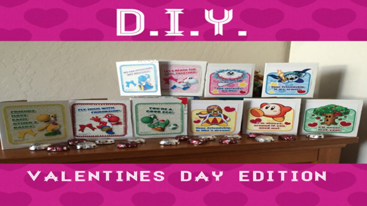 D.I.Y. Valentines edition