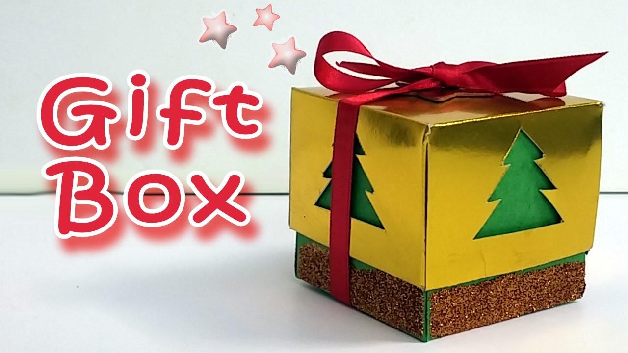 DIY crafts : Gold Gift Box - Ana | DIY Crafts