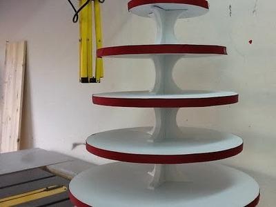 DIY : Cupcake stand for Wedding decor