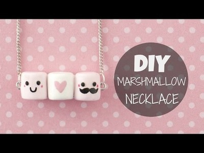 DIY Cute & Easy Marshmallow Necklace