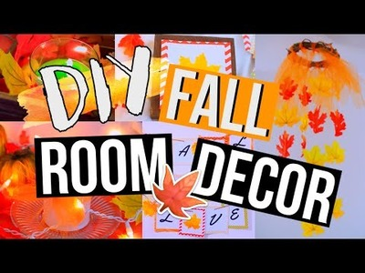 DIY Fall Room Decor | Spice Up Your Room for FALL!