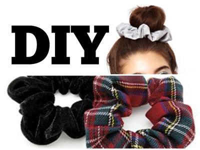 DIY. How to make Hair Scrunchies