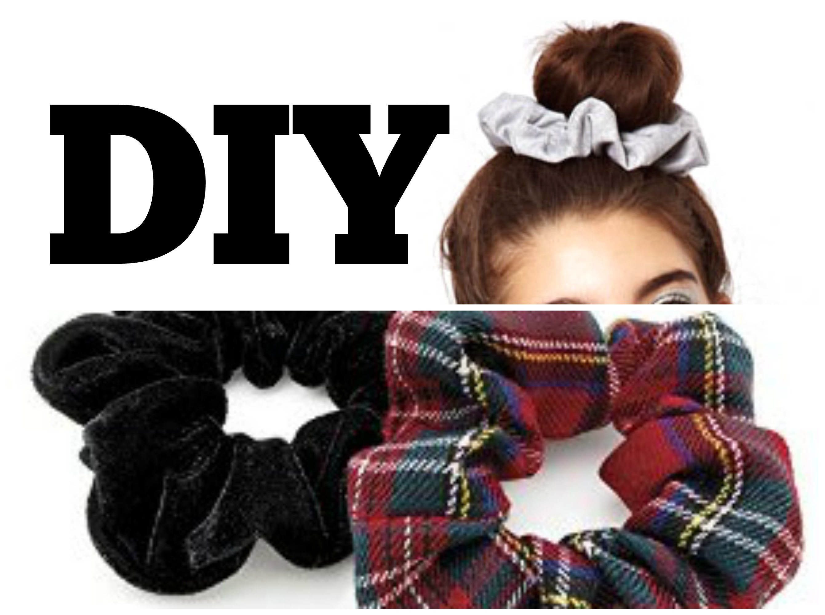DIY. How to make Hair Scrunchies