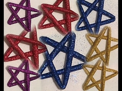 DIY : How to make perfect star using plain paper | No Cut | Easy craft