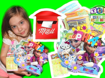DIY MAILBOX with Queen Elsa Anna Frozen Home Shopkins Inside Out Hello Kitty Characters
