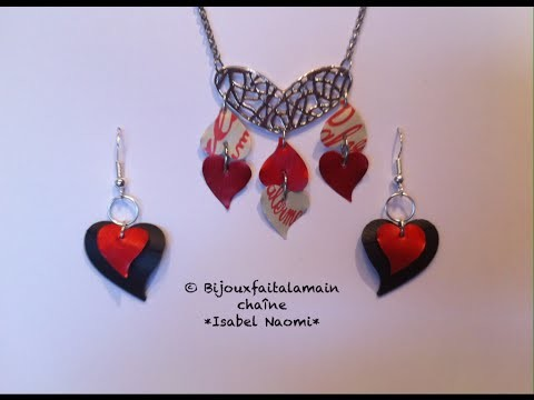 DIY Nespresso; How to make a jewelry set for valentines day