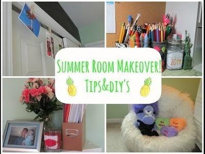 DIY Summer Room Makeover!