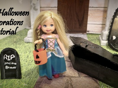 Doll Halloween Decorations Tutorial