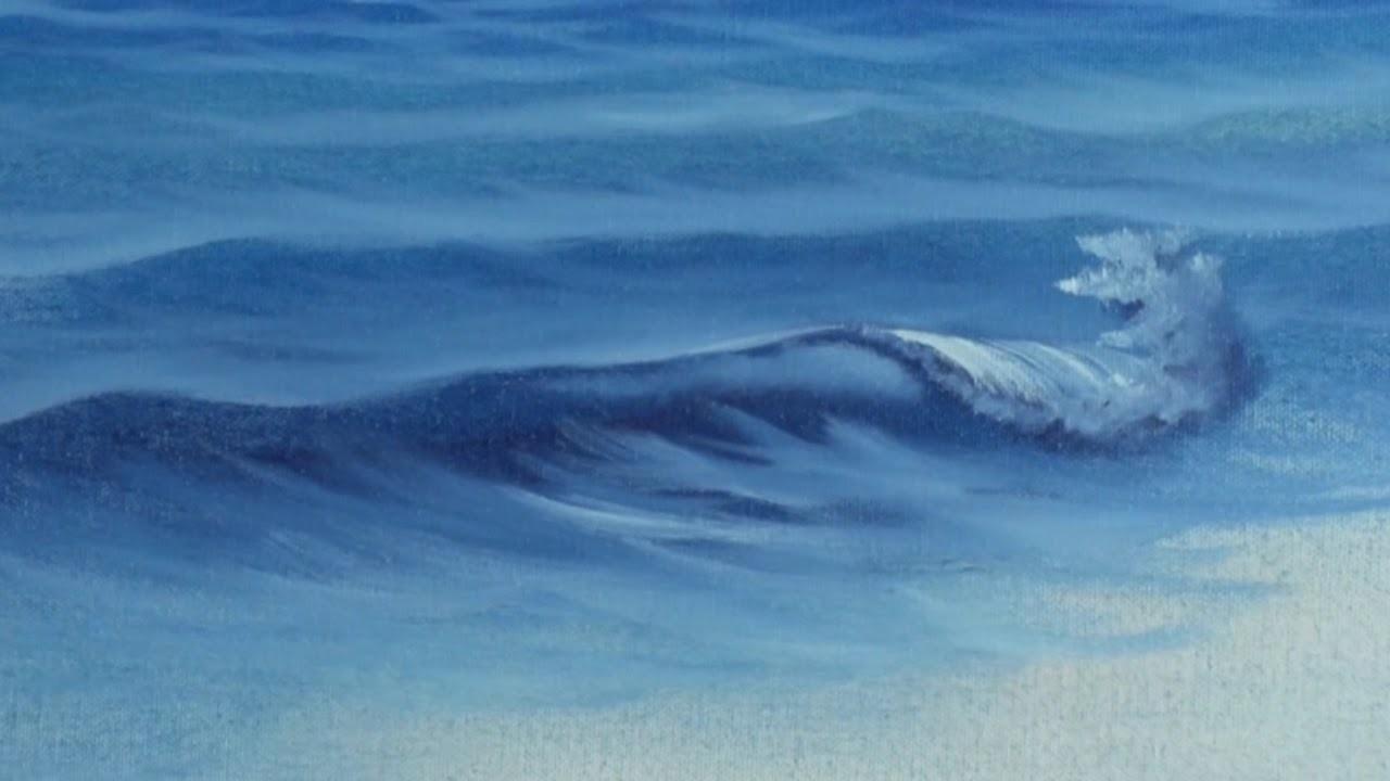 Fan Brush Sea - Painting Lesson