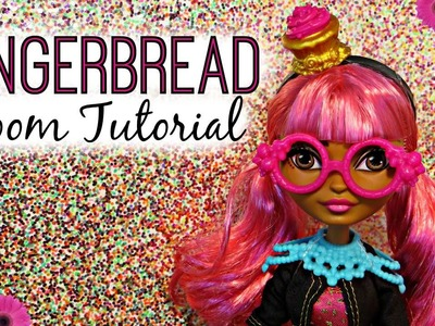 Gingerbread Room Tutorial