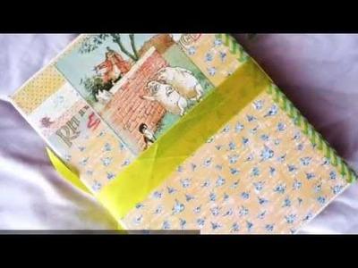 Hinge Binding for Mini Album (Part 1) | Pretty Paper Studio