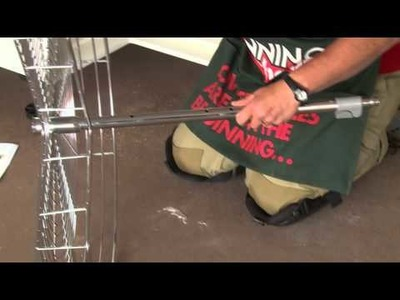 How To Install Corner Rotating Baskets - DIY At Bunnings