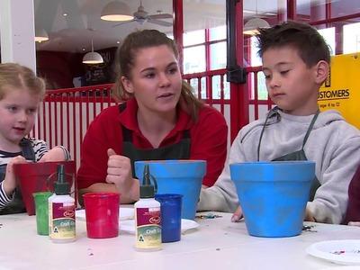 How To Make a Decorative Garden Pot - DIY at Bunnings