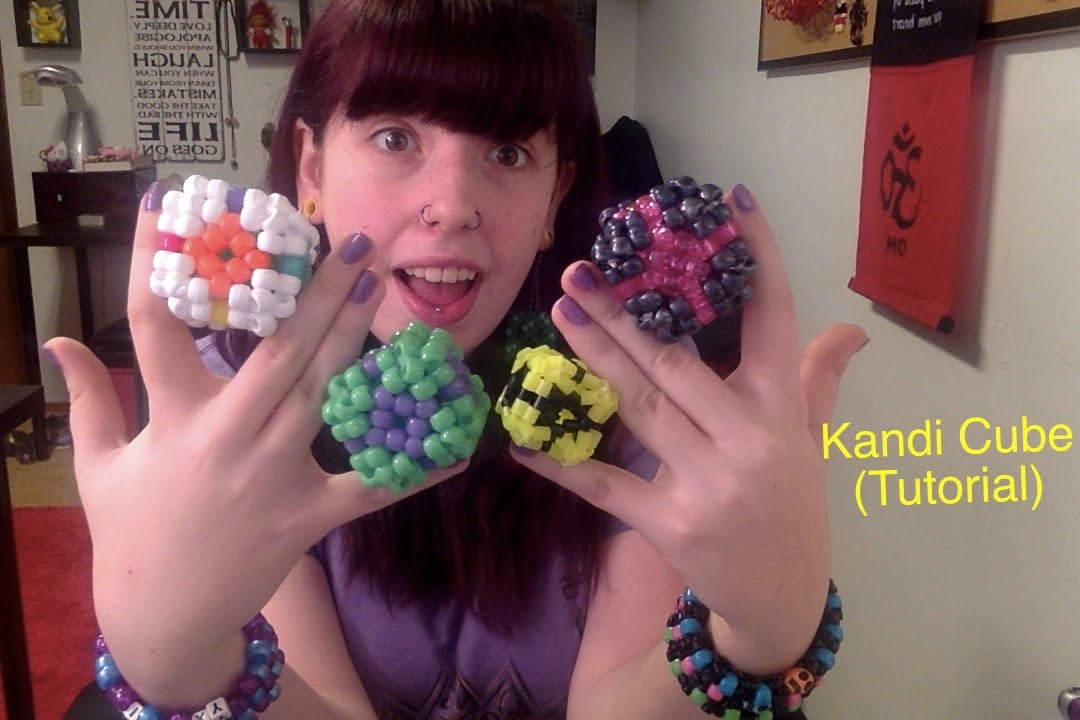 How to make a Kandi 3D Cube (Tutorial)