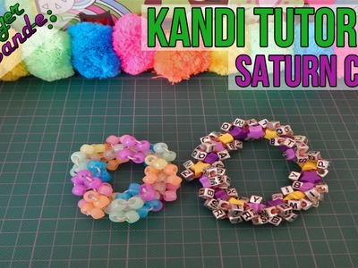 How to make a Saturn Cuff - [Kandi Tutorial]