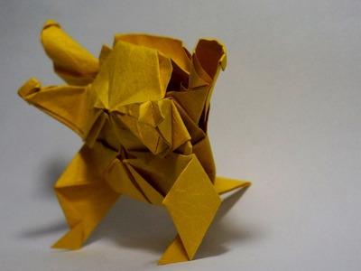 How to make an origami Pokemon - Blastoise (Henry Phạm)