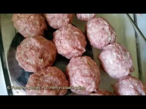 How To Meat Cutlets In The Oven. - DIY Food & Drinks Tutorial - Guidecentral