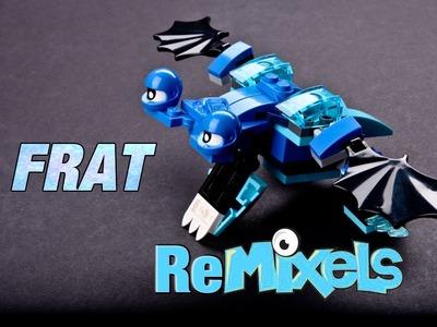 LEGO® MIXELS Frosticons Max Remixel - FRAT The Froggy Bat Custom Design Tutorial