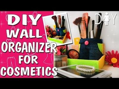 Organizer for Cosmetics DIY Tutorial | How to make a Cosmetics Bag