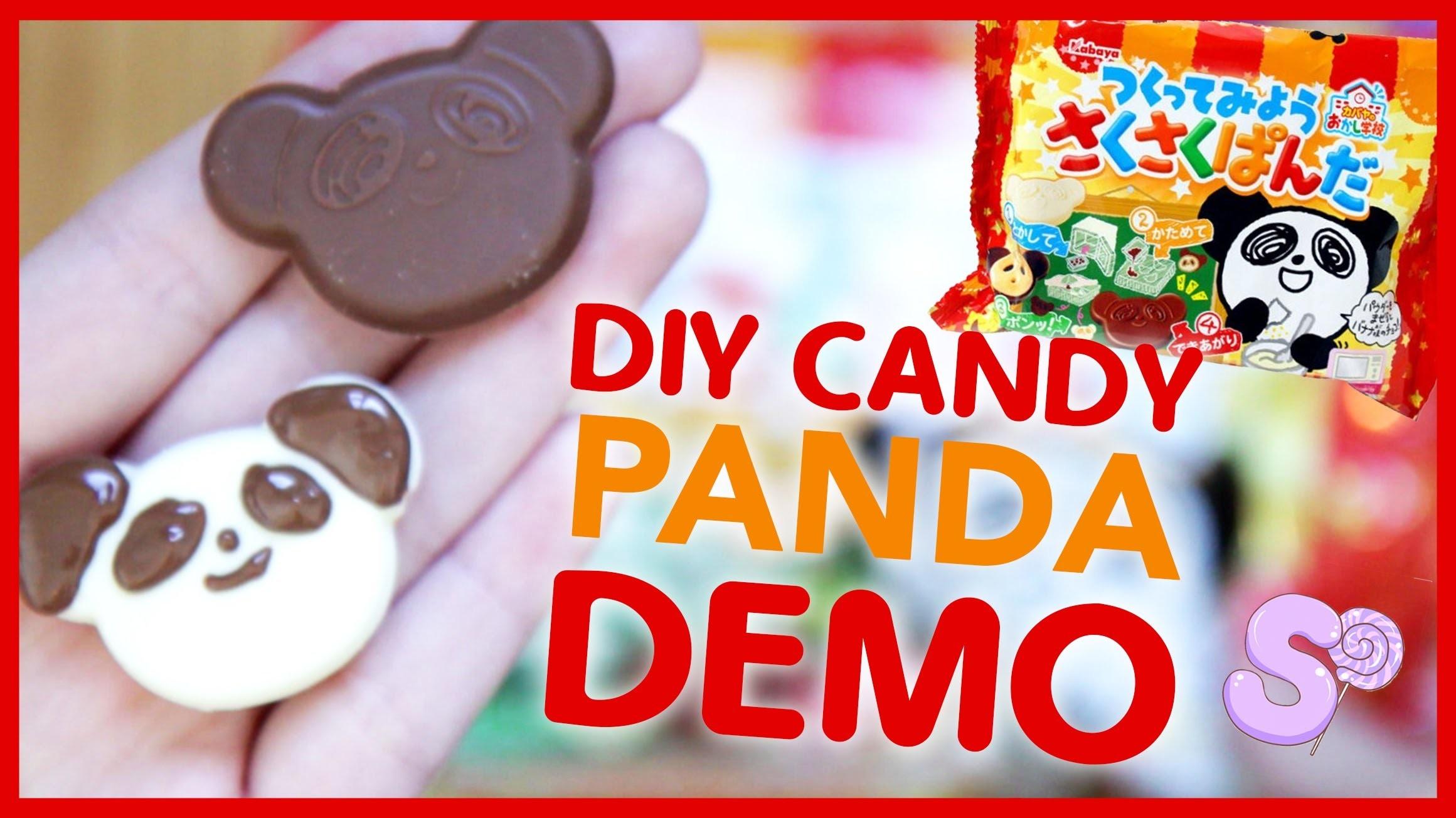 Panda DIY Candy Kit