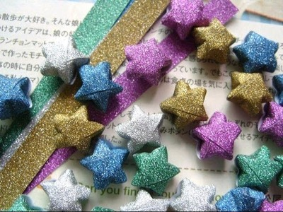 Paper star - origami tutorial - easy and quickly for beginners