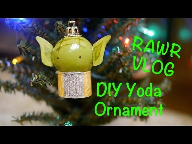 Rawr Vlog: DIY Yoda Ornament