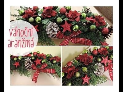 Vánoční aranžmá - výzdoba. diy christmas decorations
