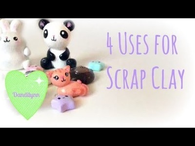 4 Uses for Scrap Clay