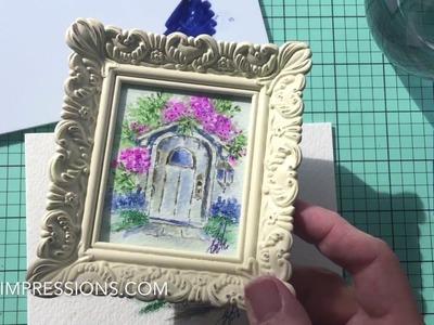 Ai Watercolor Mini Project - Summer Wooden Door